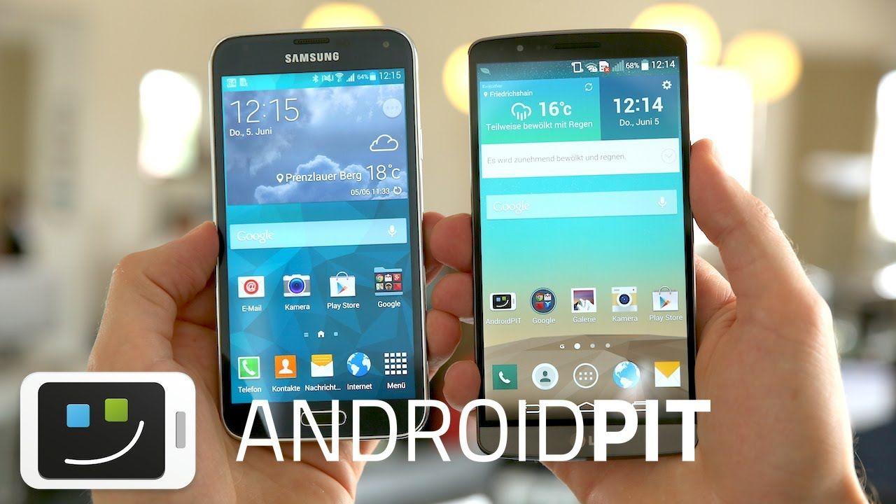 LG G3 vs Samsung Galaxy S5 [VERGLEICH]