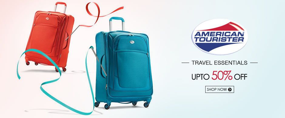 American Tourister Banner