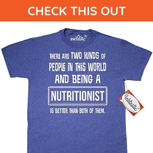 Inktastic Nutritionist Funny Job Gift T Shirt Small Retro Heather