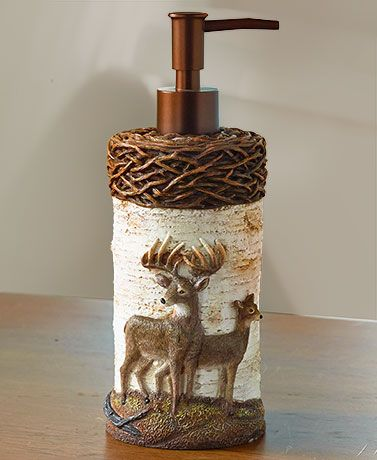 . Cold Snap Deer Bathroom Collection   LTD FINDS   Outhouse bathroom