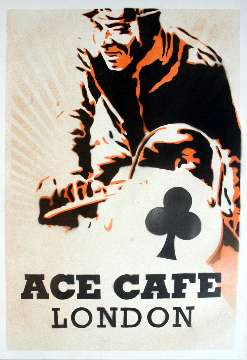 Ace Cafe London Poster