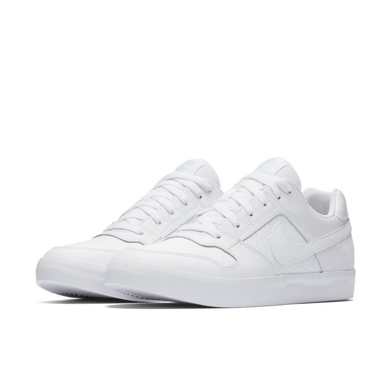 Nike SB Delta Force Vulc Men s Skateboarding Shoe - White  afd791bb93f7