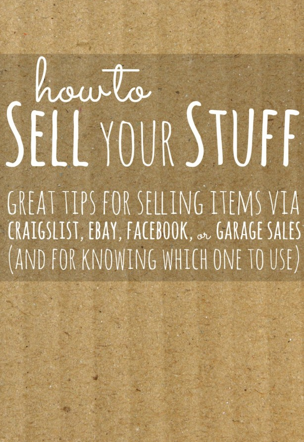 how to sell your stuff pinterest