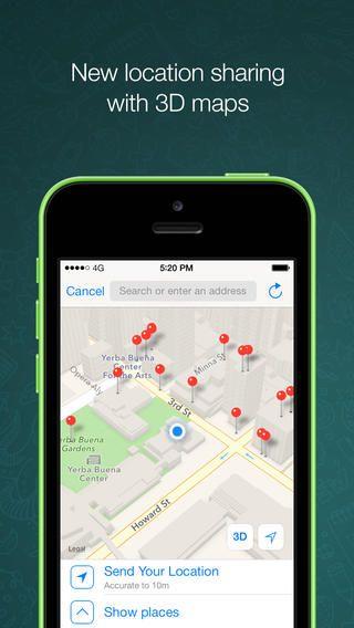 Whatsapp Messenger Messaging App Iphone Apps Mobile Messaging