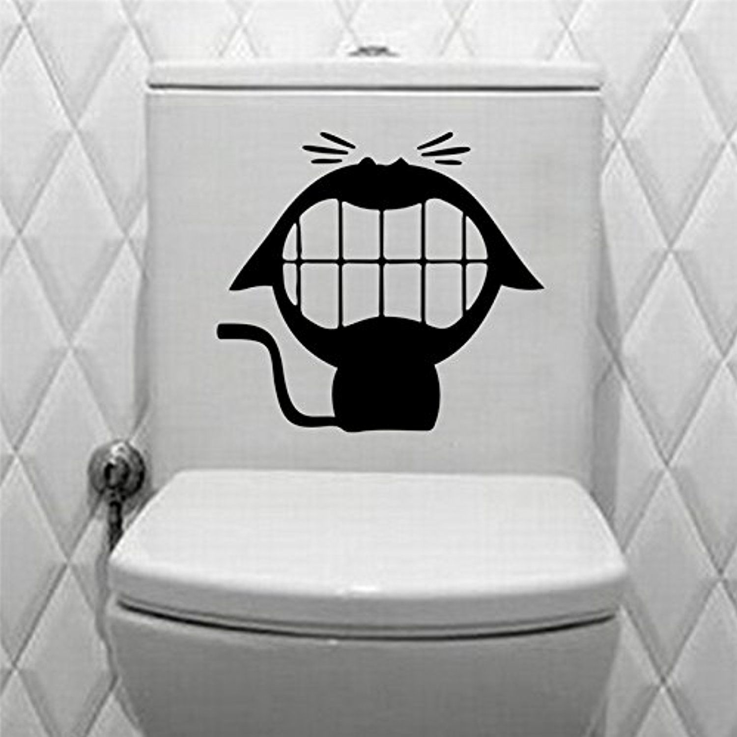 piece toilet wc wall sticker family diy decor art stickers home
