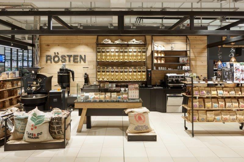 Rewe Center Coffee Hamburg De Opening November 2015