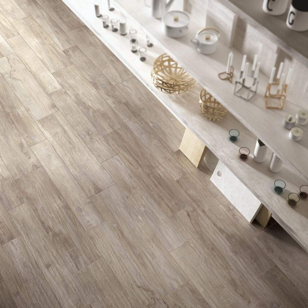 Eleganza Woodland Maple 8 X 48 And 8 X 32 Stoneware Planks Created With Top Industry Digital Technology Ceramic Floor Tile Wooden Floor Tiles Flooring