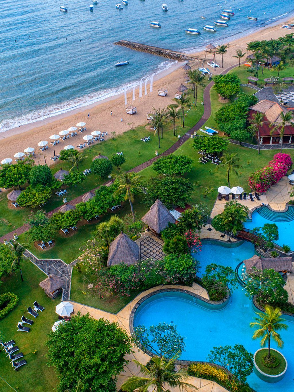 Bali Resort All Inclusive Grand Mirage Resort Beachfront