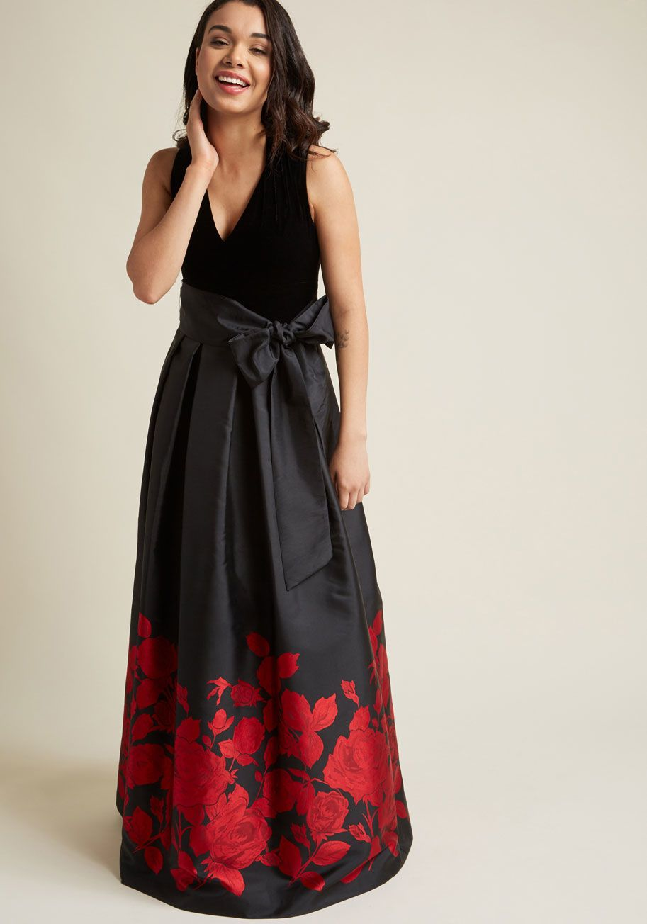 Eliza j velvet maxi dress with pockets maxi dresses modcloth and
