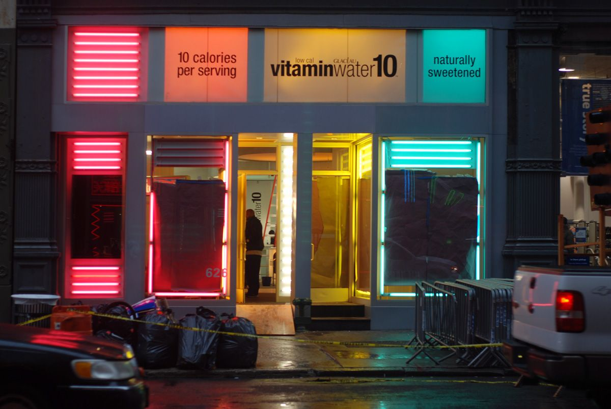 Nyc Vitamin Water Popup Store Opening Friday Pop Up Store Pop