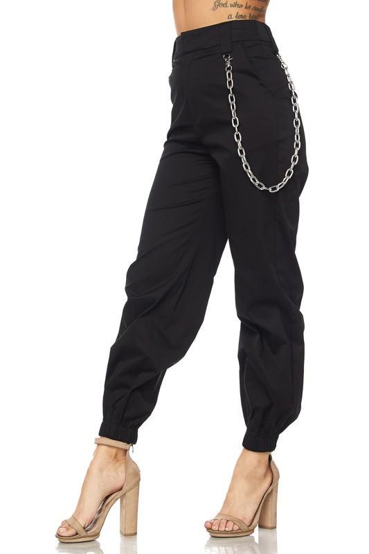 f06a4542 High Waist Jogger Style Cargo Pants | BolderSides Women Pants ...