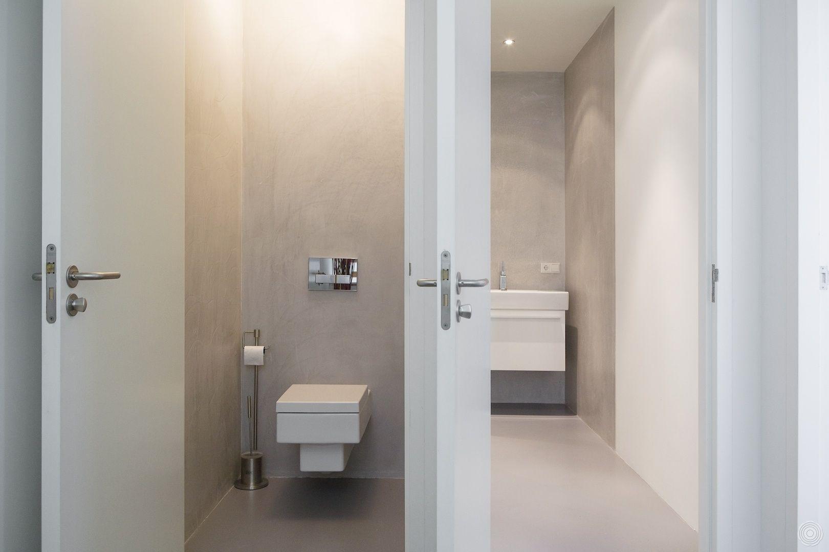 Zonder schimmels en naden. De Senso gietvloer in uw badkamer blijft ...