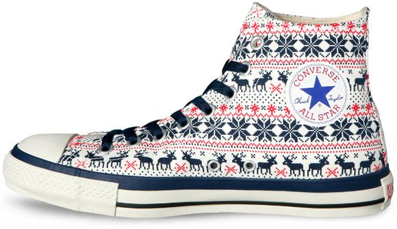 converse chuck taylor all star high nordic sweater. Black Bedroom Furniture Sets. Home Design Ideas