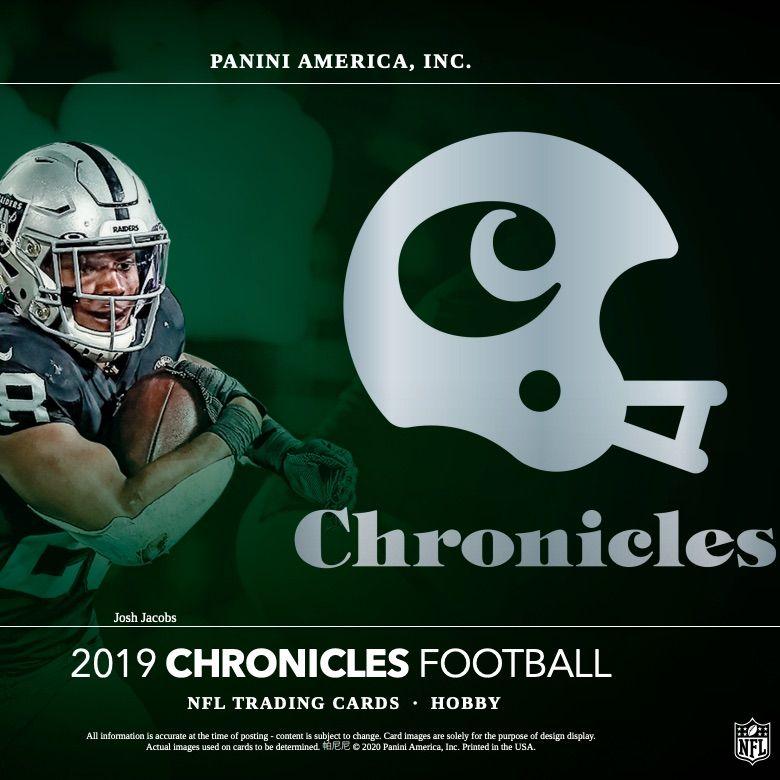 2019 panini chronicles football checklist nfl set info