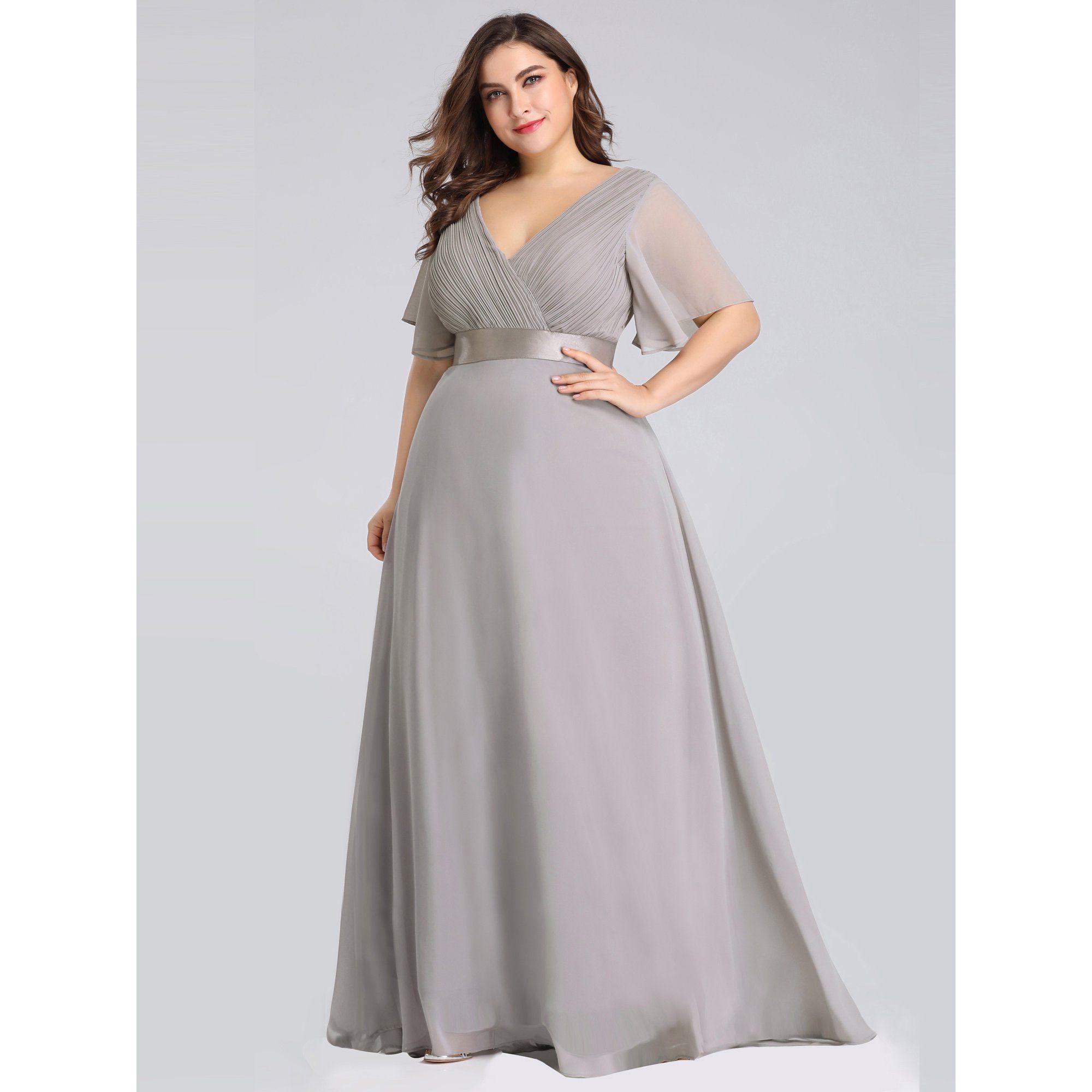 Ever Pretty Ever Pretty Womens Plus Size Fomral Evening Dresses For Women 98902 Green Us24 Walmart Com In 2021 Empire Waist Evening Dress Evening Dresses Party Gown Dress [ 2000 x 2000 Pixel ]