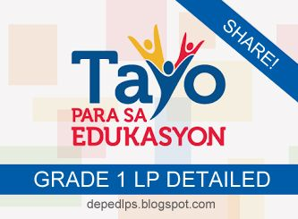READY MADE GRADE 1 DETAILED LESSON PLAN ALL SUBJECTS - DepEd