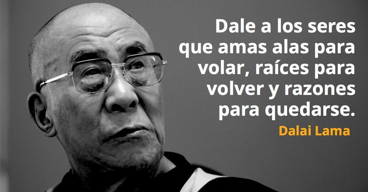 105 Frases de Dalai Lama para encontrar la felicidad y paz