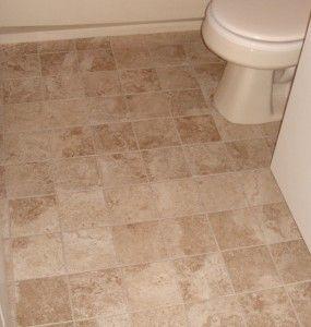 Vinyl Floor That Looks Like Tiles... Looks Cheap, Or Looks Warmer. Bathroom  FlooringVinyl ...