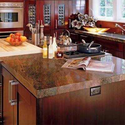 Kitchen With Granite Countertop Kitchen Design Granite Countertops Countertops