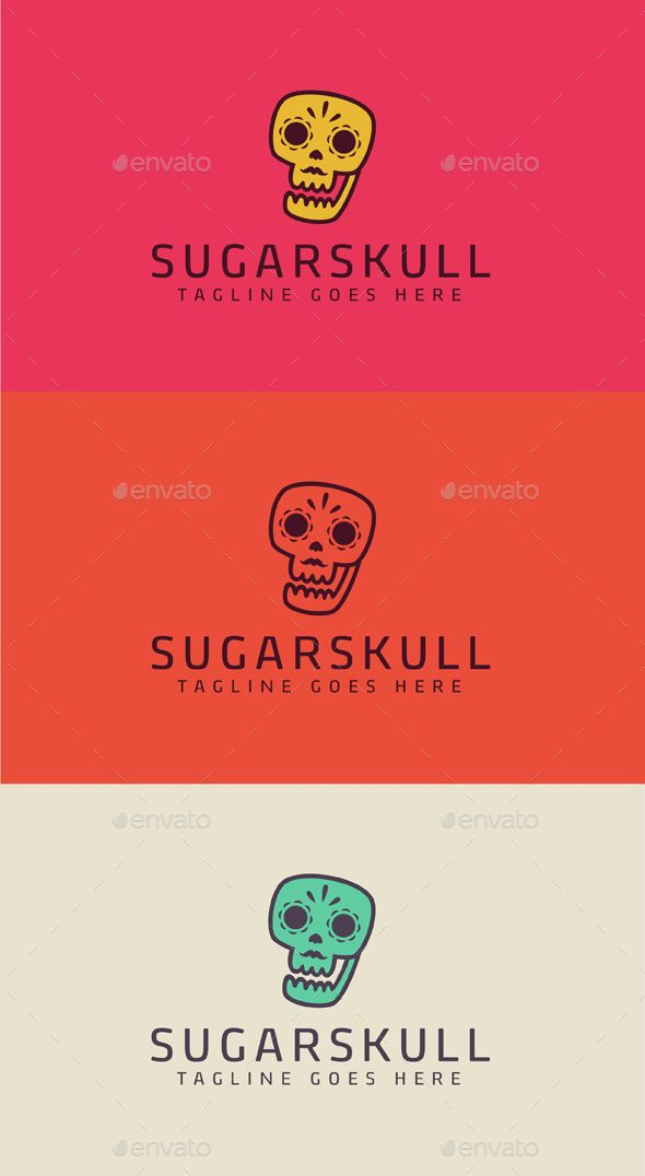 SugarSkull by Cetaceans SugarSkull Logo is a multipurpose logo. This logo that can be used by any creative business. Whats included? 100% vector AI and E