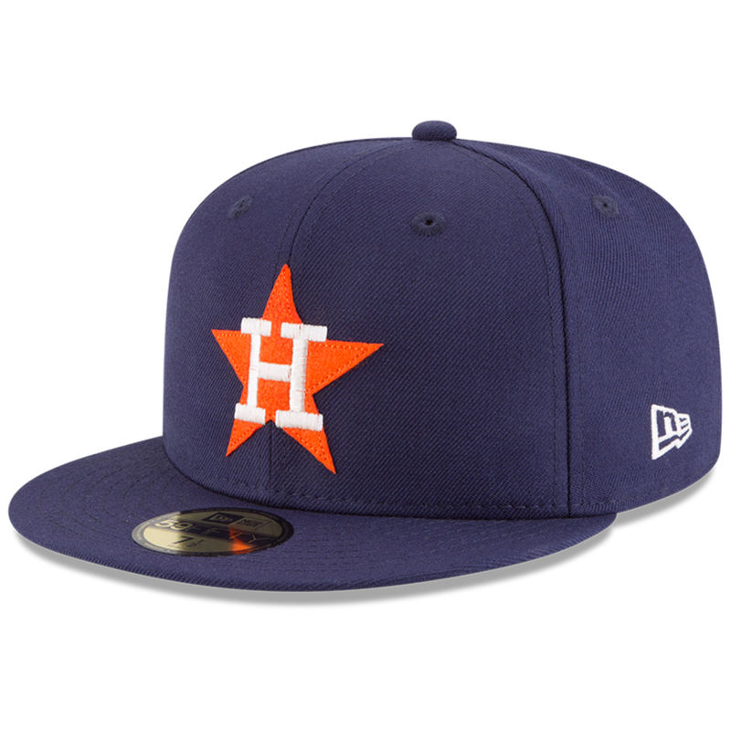 bda83ce2645 Houston Astros New Era Cooperstown Inaugural Season 59FIFTY Fitted Hat –  Navy