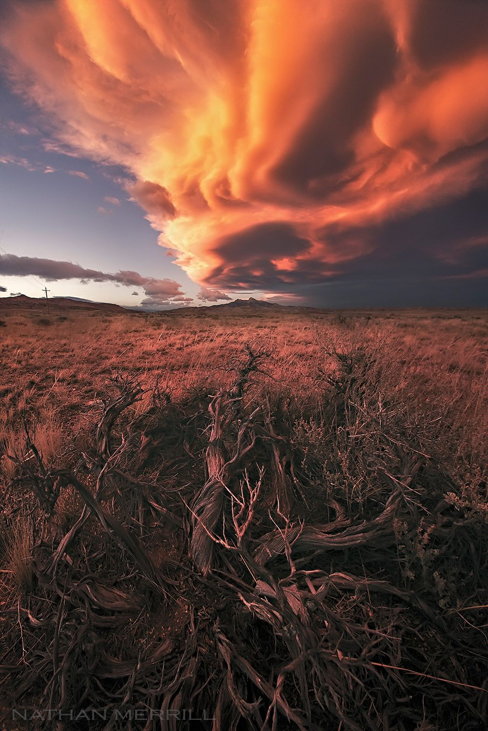 ~~Sageticular | lenticular clouds, Wyoming | by Nathan Merrill~~