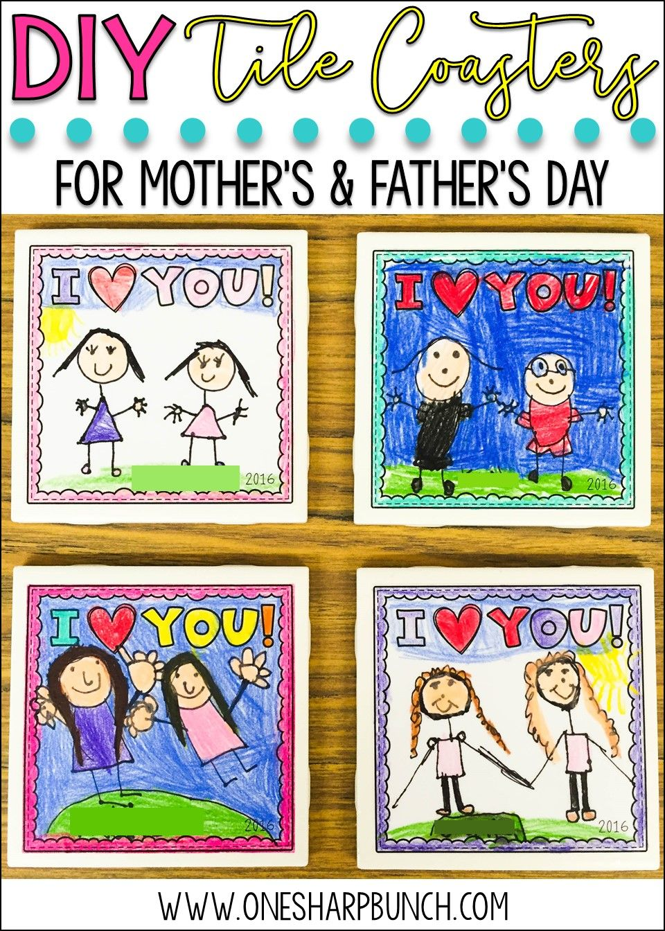 14++ Fathers day coaster craft trends