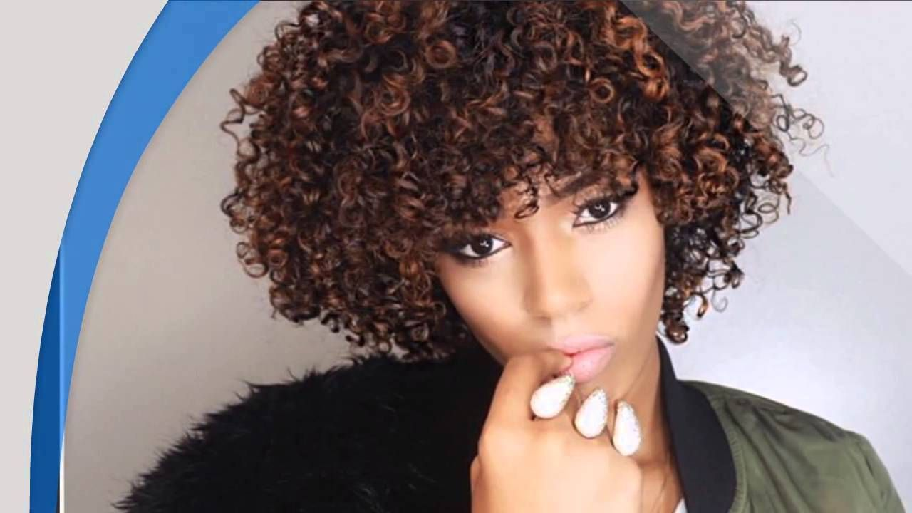 24 Amazing Black Curly Hairstyles For African Amerian