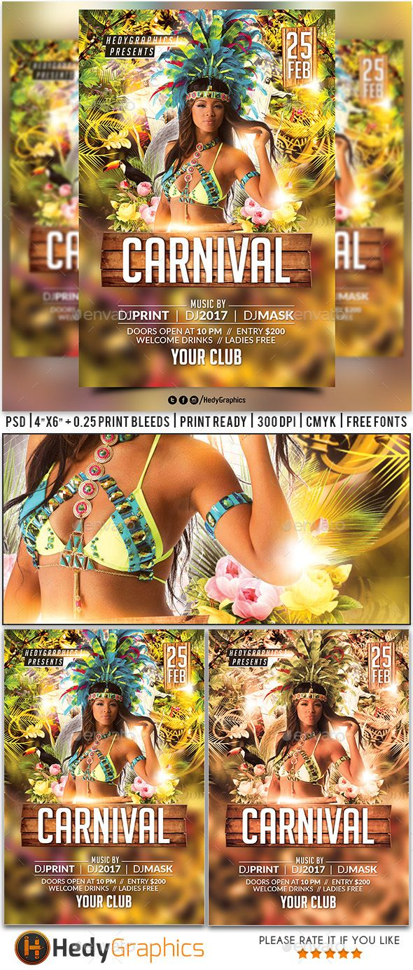carnival flyer events flyers carnival flyer templates