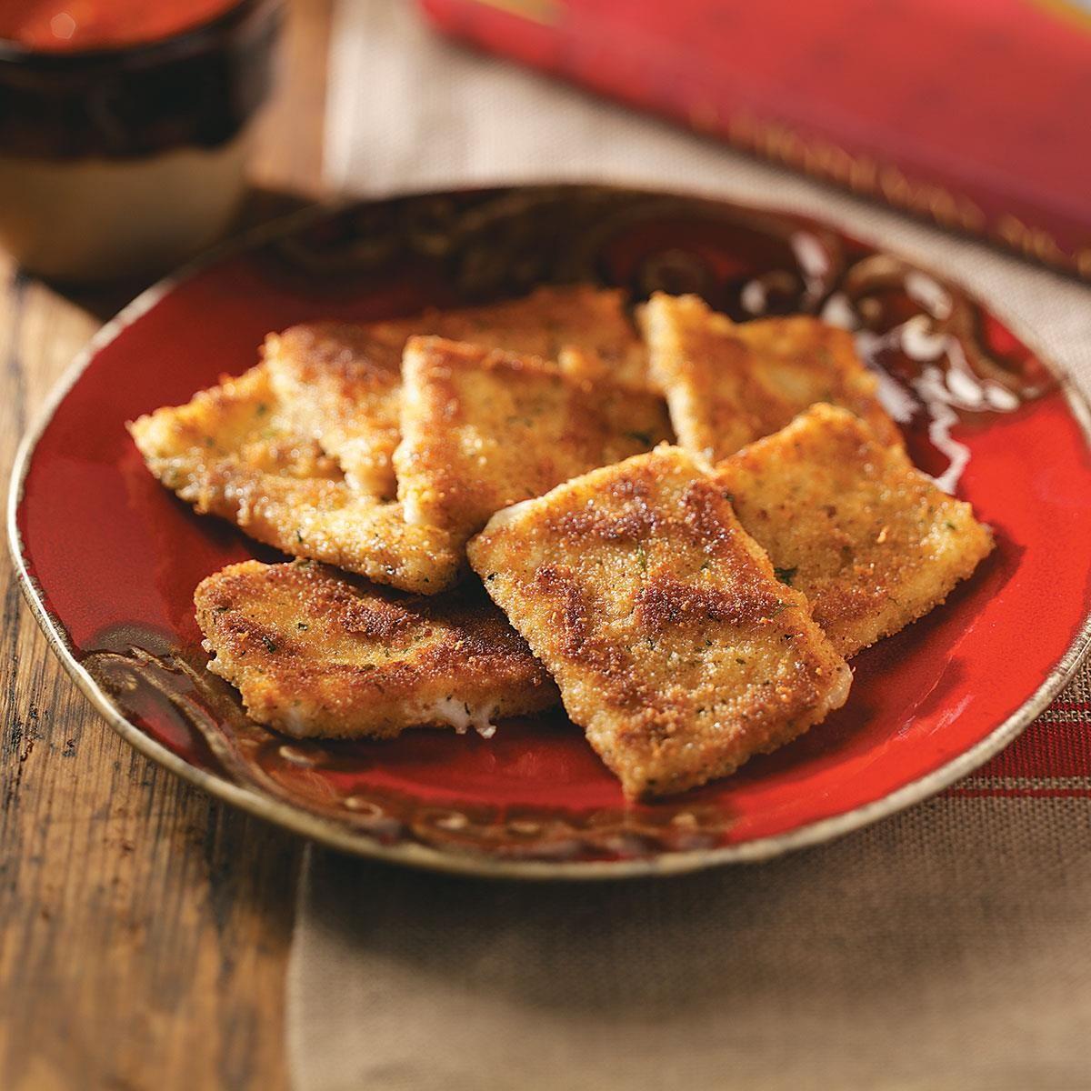 Fried Mozzarella Cheese Appetizers | Recipe | Homemade tomato sauce ...