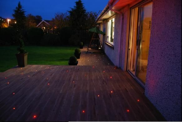 patio lighting idea