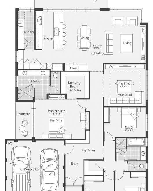 Impressive Detached Garage Plans Trend Other Metro: Floor Plan Friday: Acreage Style With 4 Bedrooms, Activity