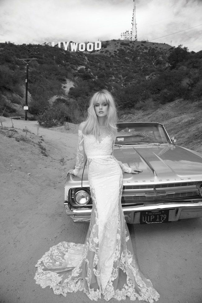 Behold the Inbal Dror 2014 \'Los Angeles\' Bridal Collection {Part 2 ...