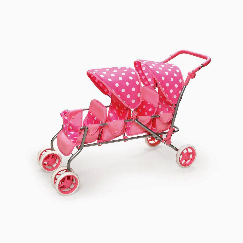 Stroller In Violet Color Baby doll strollers