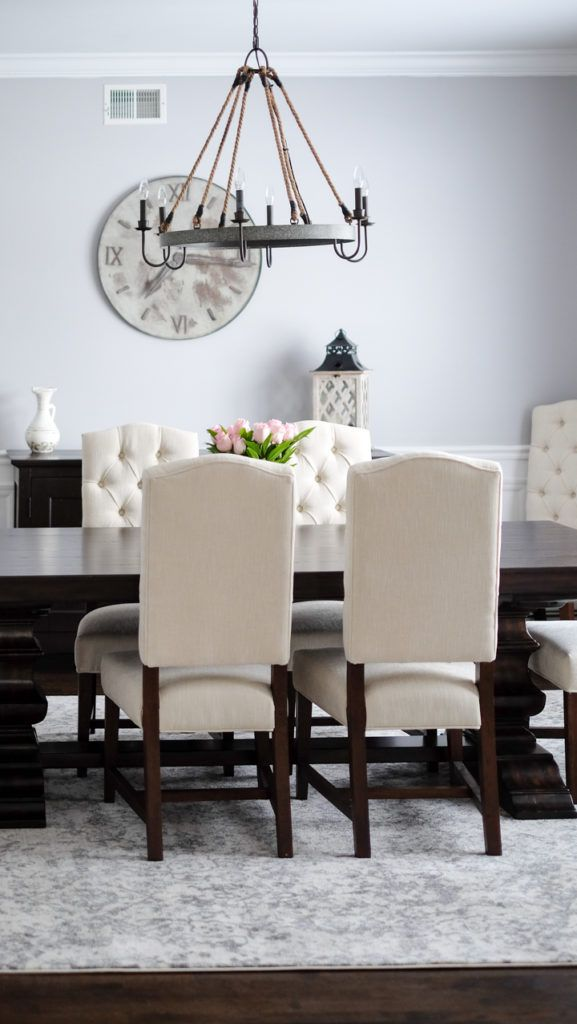 My Dining Room Mrscasual Pottery Barn Dining Room Dining Room Style Dining Room Colors