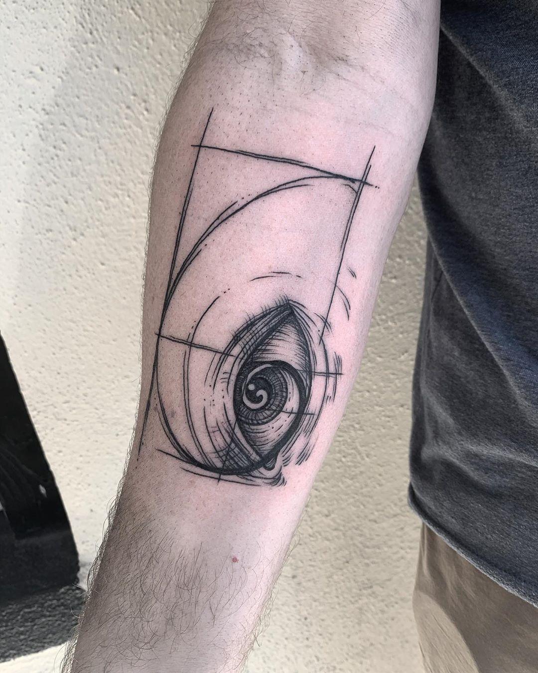 #Tattoos,fibonacci tattoo