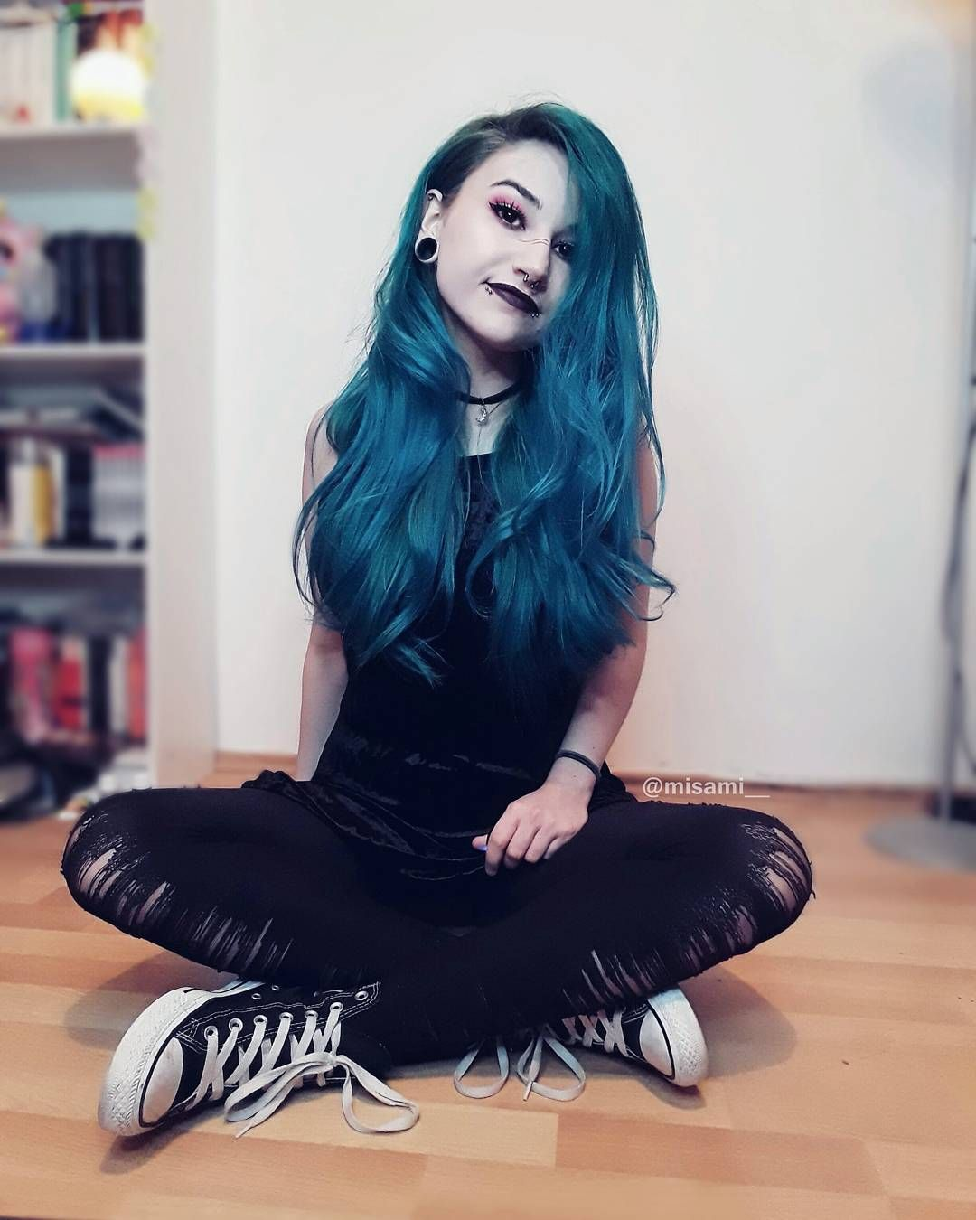 Misami everything pinterest emo hair coloring and emo girls
