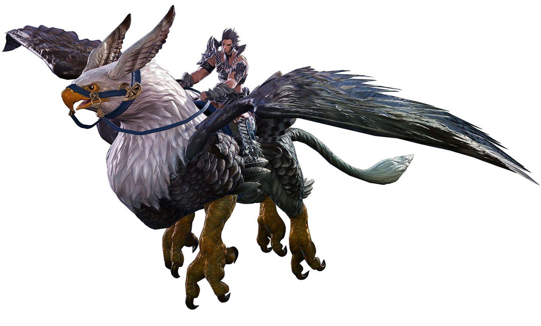 Final Fantasy XIV: Heavensward - Griffin Mount | Final