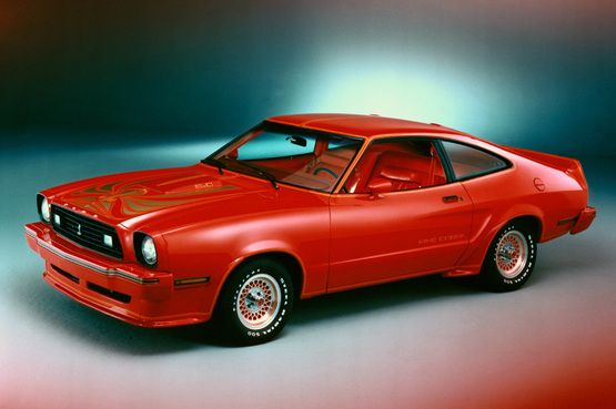 1978 Ford Mustang King Cobra in Red