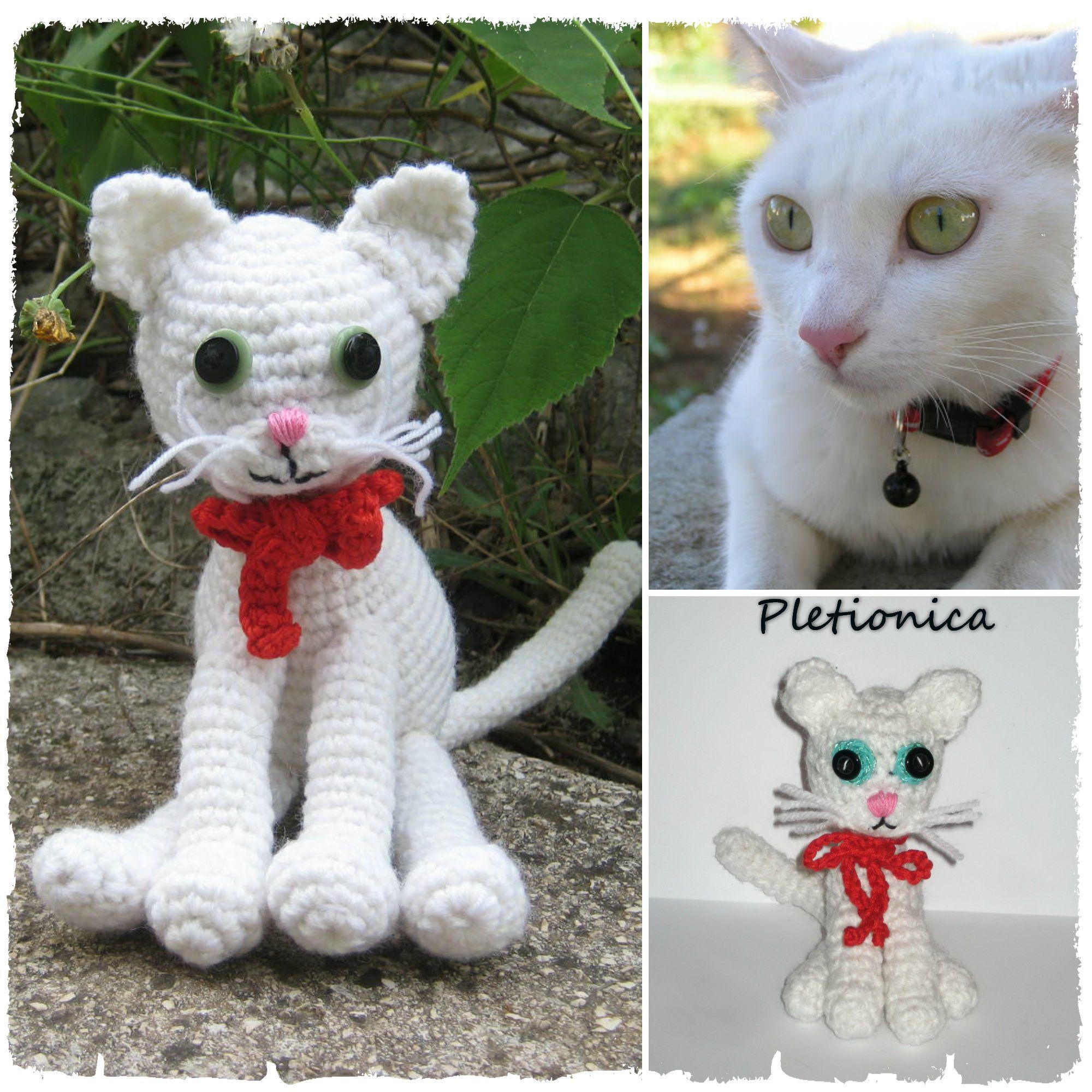 crochet cat keychain pattern - YouTube in 2020 | Cat amigurumi ... | 2000x2000