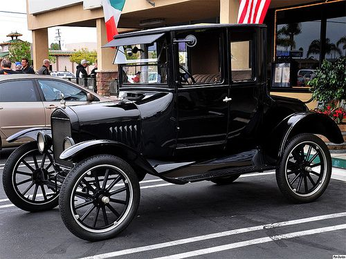1922 Ford Model T Coupe Black Fvl Classic Cars Vintage Ford