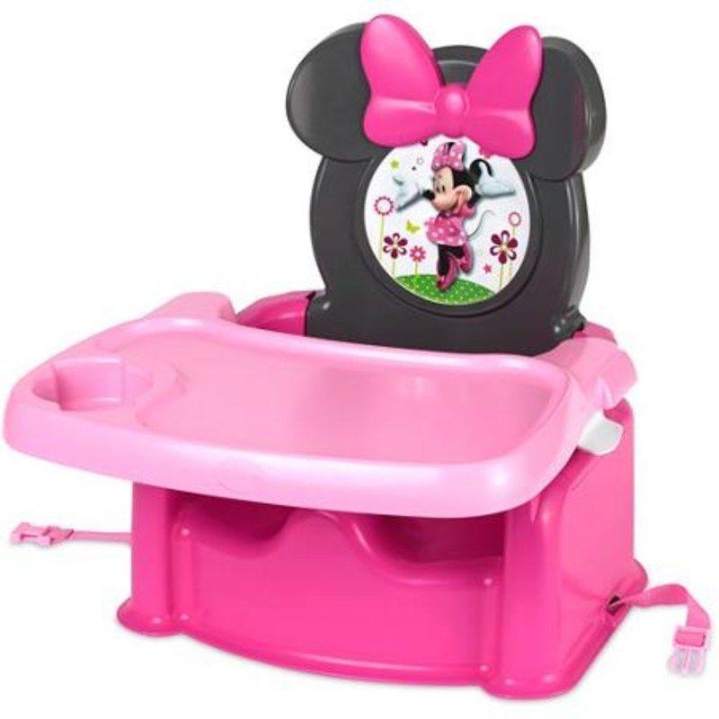 Disney Baby Minnie Mouse High Chair Feeding Booster Chair Girls Toddler  Portabl #Disney