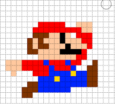 Bildresultat För Mario Bros Bilder Pixel Art Cross Sticth