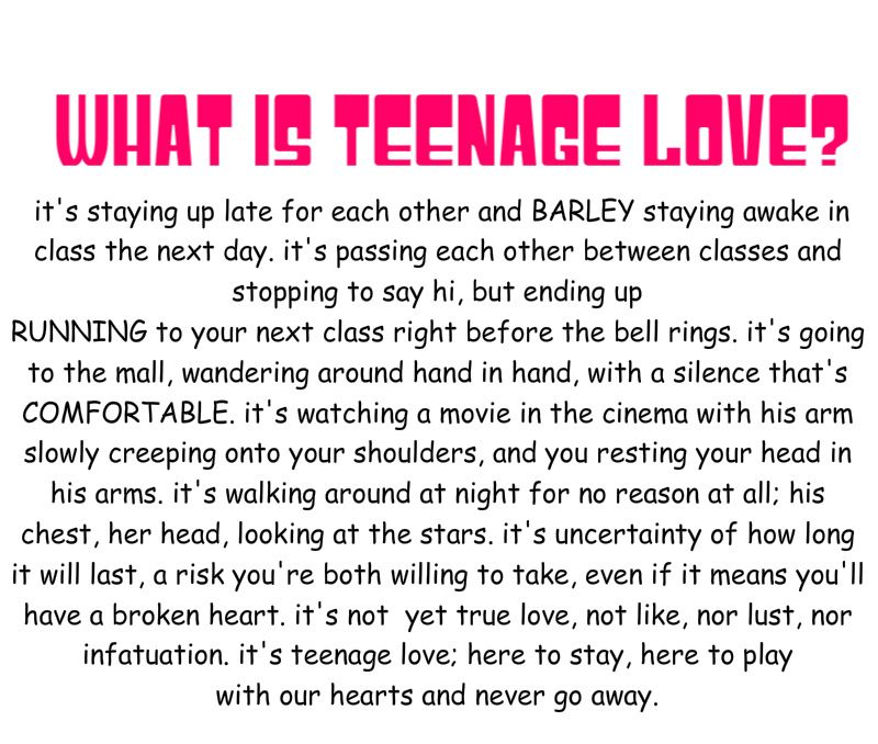 Teen quotes that are true or wanted to be true