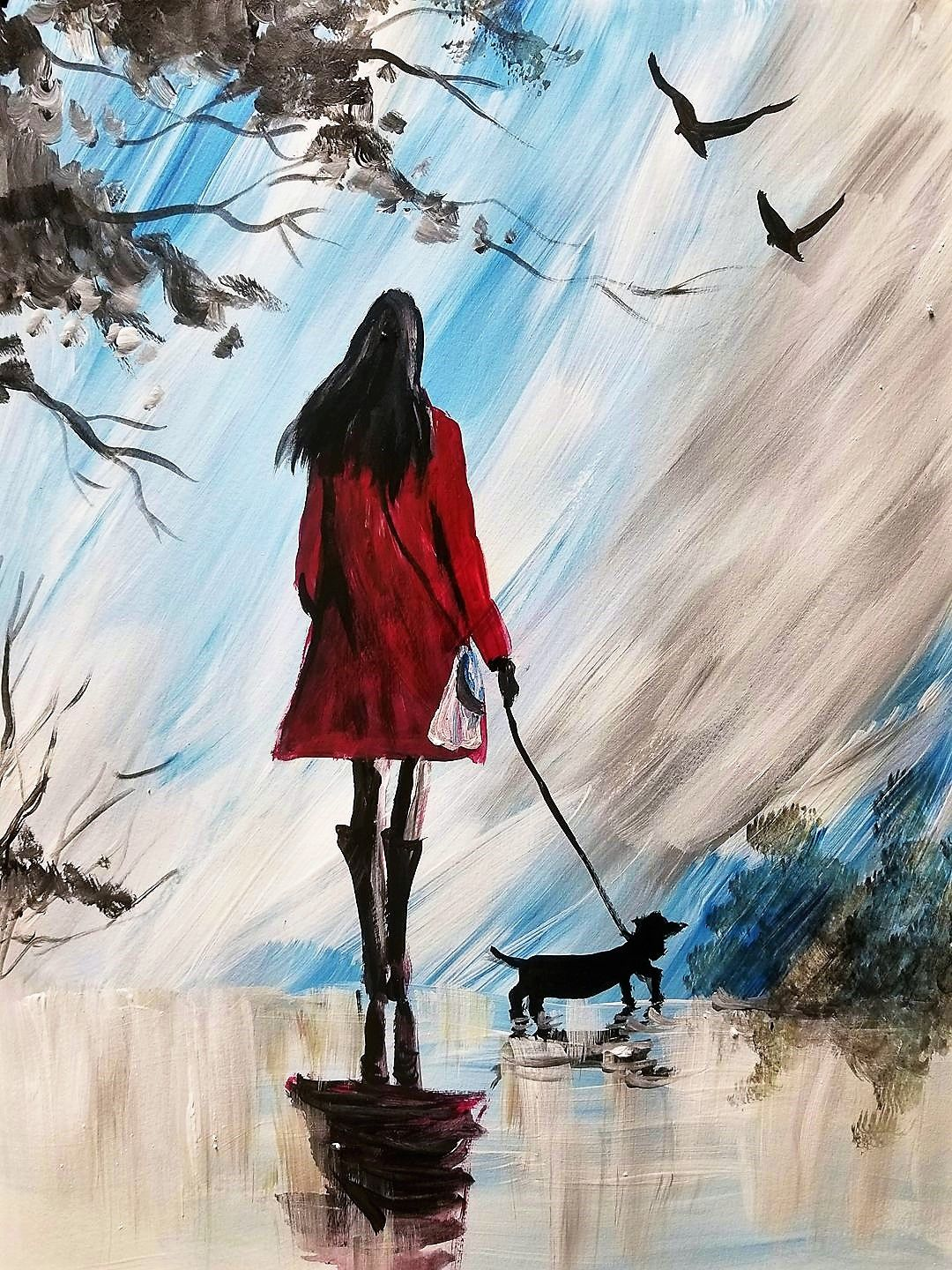 Fall 2017 Lookbook You Ll Never Walk Alone Paint Nite Painting Painting Night Painting Art Painting