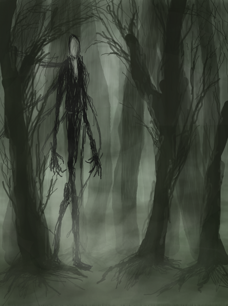 slenderman s forest by hyperactive nutcase deviantart com