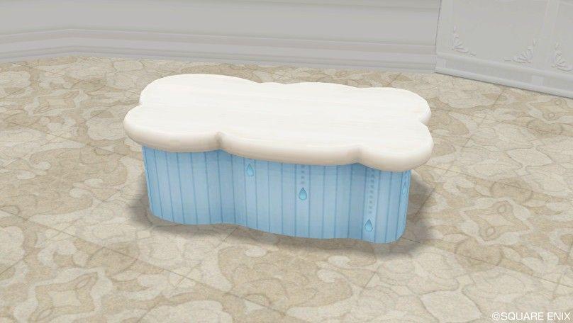 ふわふわ雲のテーブル - ドラクエ10 みんなのハウジング