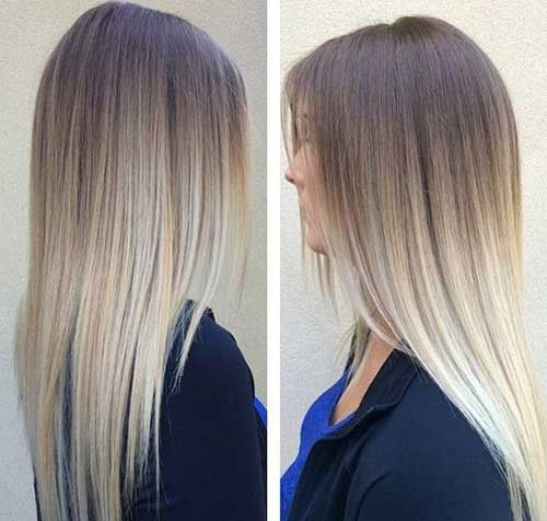 Ombre Hair Blonde Image By Lucy Ewart On Ombre Long Hair Girl