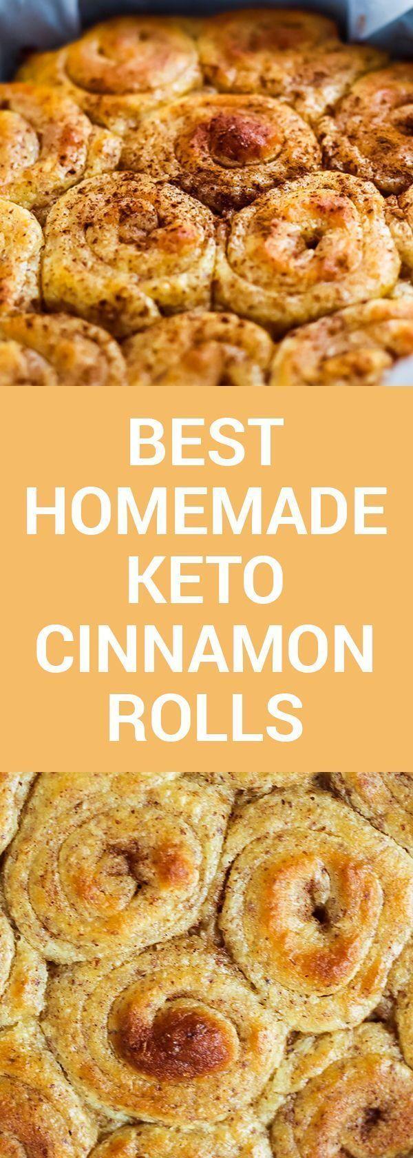 Best Homemade Keto Cinnamon Rolls #planningyourday