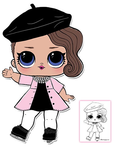 Pin By Kely Tinti On Dibujos Lol Dolls Lol Coloring Pages